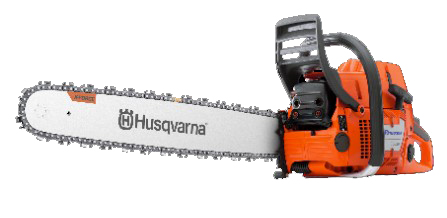 So Husqvarna Säge 390XP